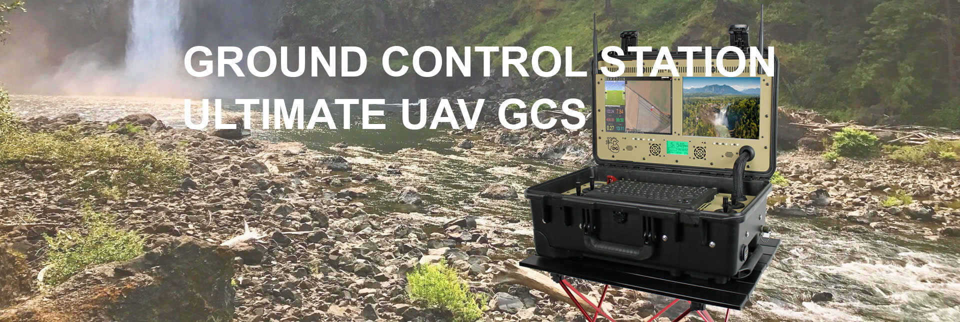 Drone Guts | UAV Ground Control Stations and Drone GCS |